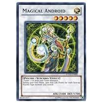 遊戯王 英語版・北米版  白 MAGICAL ANDROID(R)(マジカル・アンドロイド)