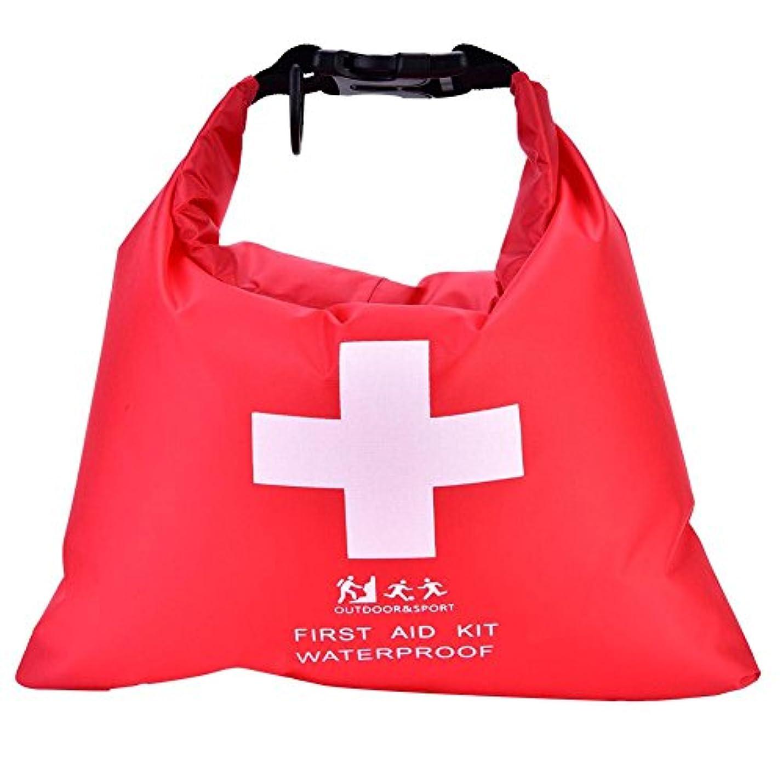 愛国的な苦味真実にドライバッグ キャンプドライバッグ 防水応急処置キットバッグ 大容量 防水 耐久 丈夫 食べ物/服/財布用 アウトドア 赤