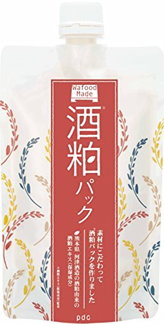 布発表する動的ワフードメイド(Wafood Made) 酒粕パック 170g 日本製