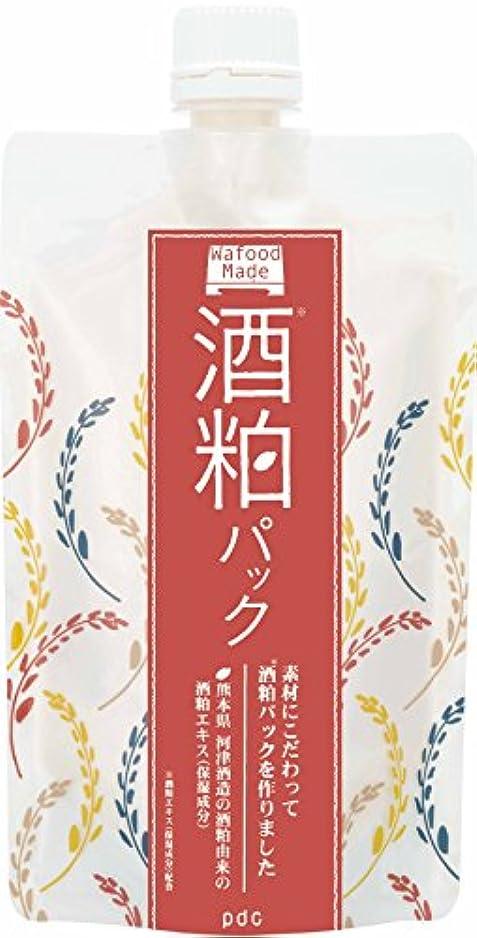 挑むなめるしっとりワフードメイド(Wafood Made) 酒粕パック 170g 日本製