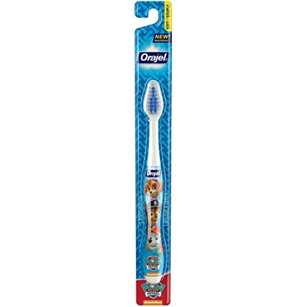 楕円形犯罪情報Orajel ポウパトロール幼児の歯ブラシ