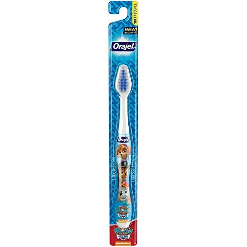 火薬適応する悪意のあるOrajel ポウパトロール幼児の歯ブラシ