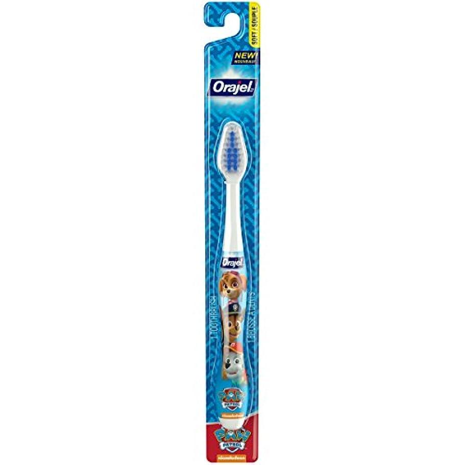 散歩擁するオンスOrajel ポウパトロール幼児の歯ブラシ