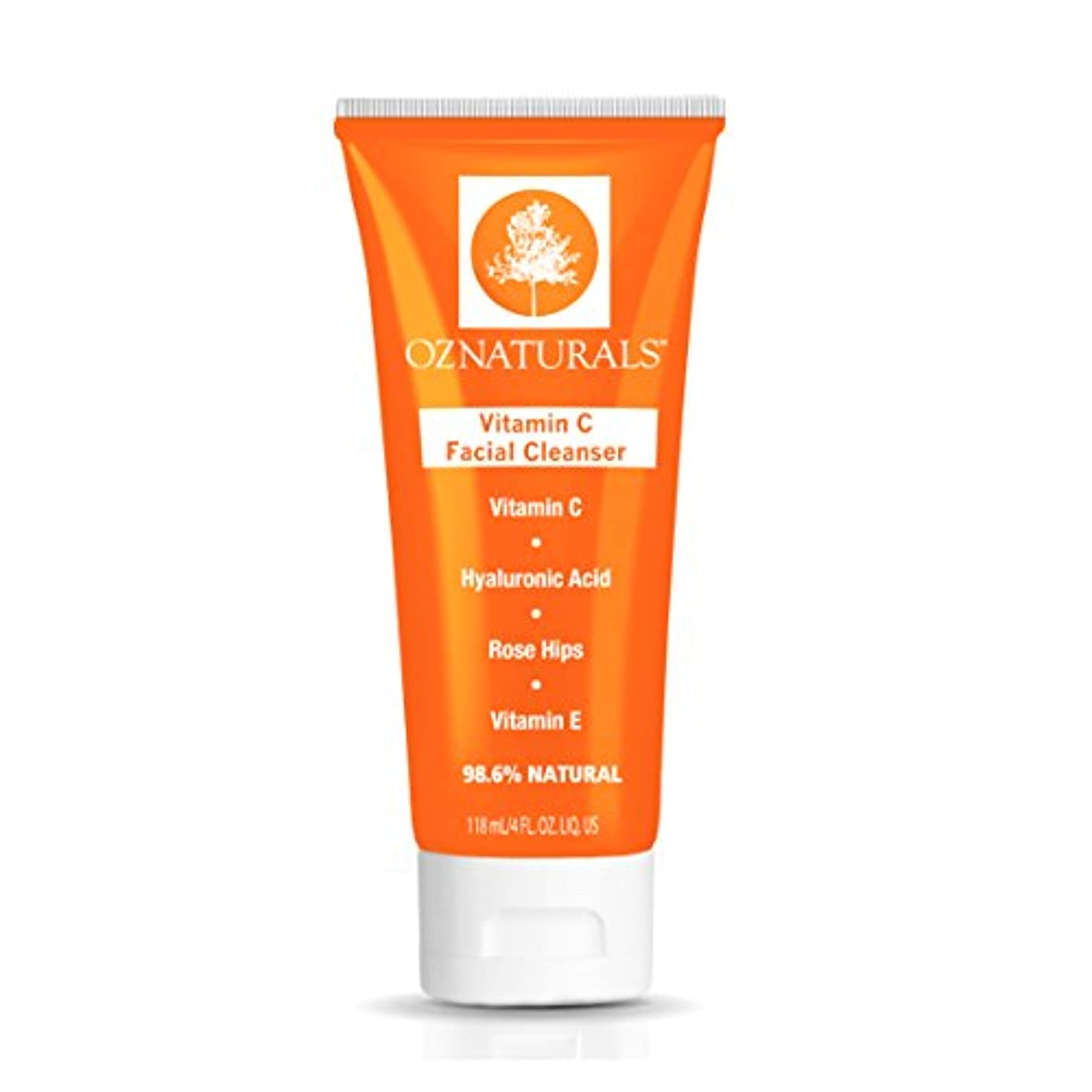 同級生クローゼットピクニックVitamin C Facial Cleanser 98.6% Natural 118ml, 4fl.oz. ナチュラル ビタミンC 洗顔クリーム