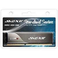 Avexir avd3u13330902g-1sw標準シリーズ2GB 240- pin pc3–10600ddr31333MHz非ECCデスクトップメモリモジュール