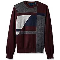 Perry Ellis Men's Color Block Sweater,