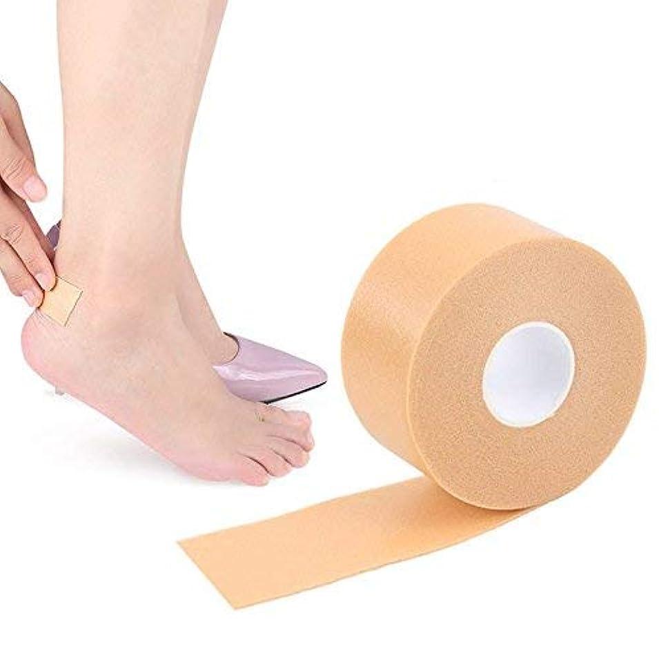 バックグラウンドクロス小学生Flymylion 靴擦れ防止 テープ パッド カカト用 25mm×5M 100回使える