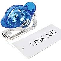 LINX AIR ゴルフ ボールラインマーカー 簡単に線が引ける スプリング式 ゴルフボールマーカー ラインマーカー (ブルー)