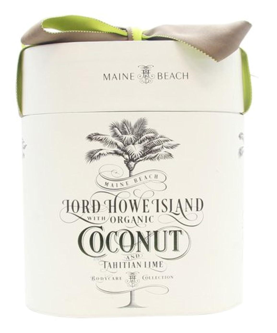 物理的なクリーム通り抜けるマインビーチ ココナッツ&ライムシリーズ DUO Gift Pack デュオ ギフト パック