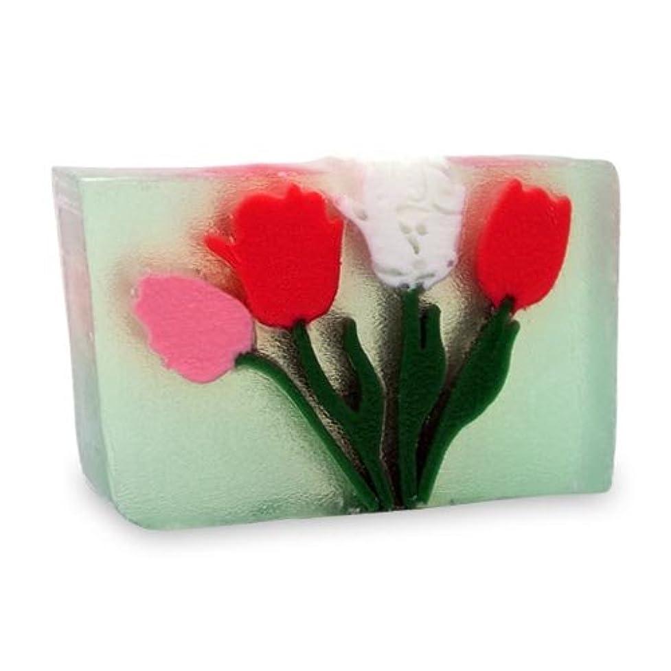 アブストラクト置くためにパック影響を受けやすいですプライモールエレメンツ アロマティック ソープ チューリップ 180g 植物性 ナチュラル 石鹸 無添加