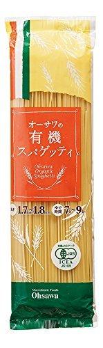 オーサワジャパン 有機スパゲッティ ×4セット