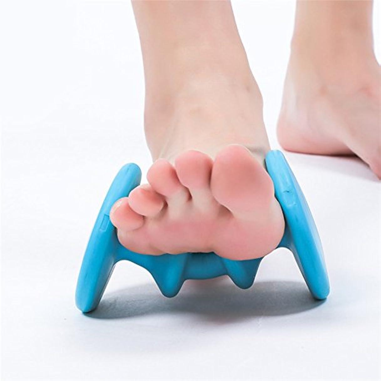 ダンススタイルソーセージRabugoo 足のマッサージローラーAcupoint快適なリラクゼーションマッサージ装置のフットケアツール