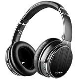 OneAudio ノイズキャンセリング ヘッドホン Bluetooth ワイヤレス ヘッドホン オーバーイヤー 密閉型 有線-無線 マイク内蔵 遮音 折りたたみ A3-S