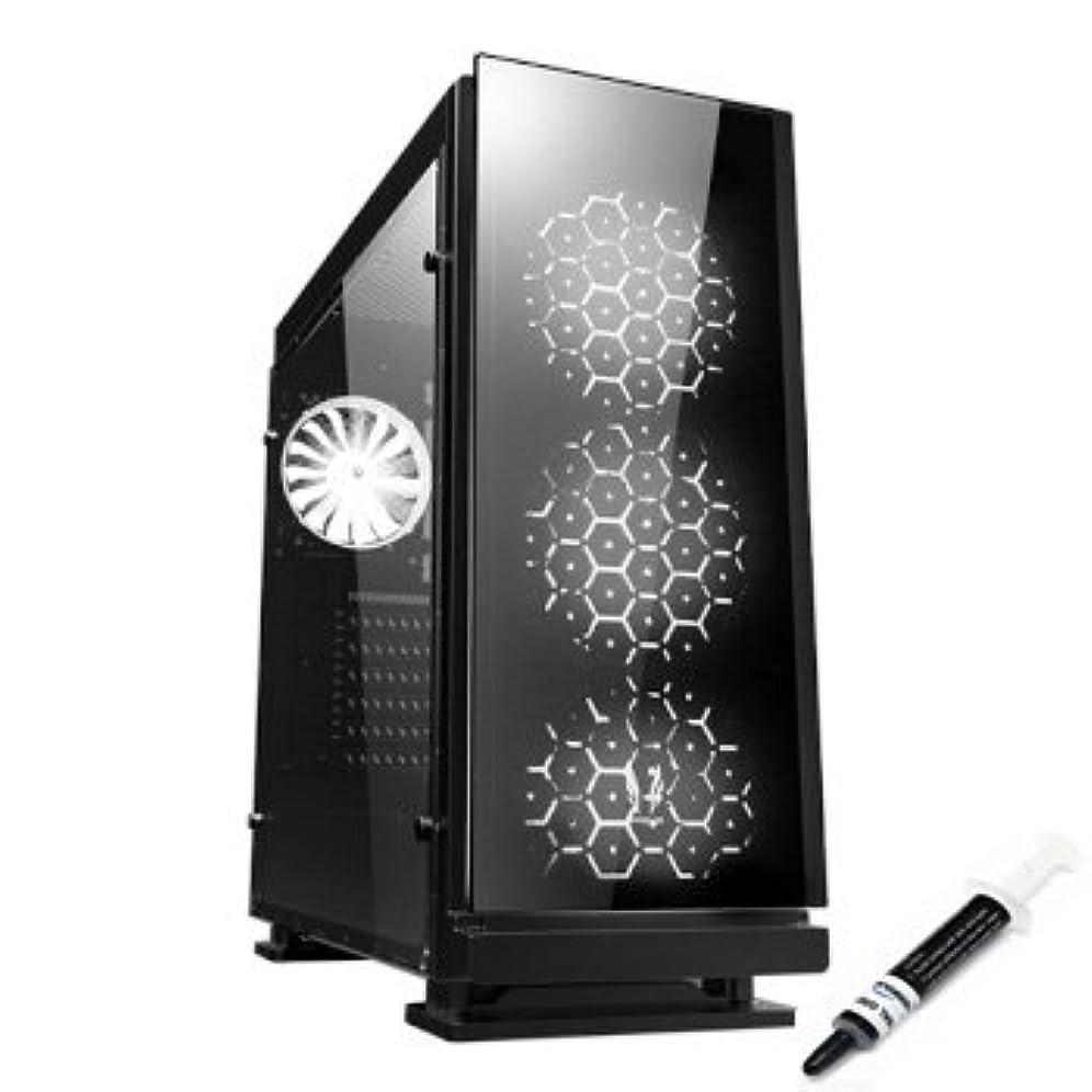 甥どんよりしたアルファベット順3RSYS J400 ミドルタワーPCケース Middle tower PC case[熱伝導率4.0W/mK Grease 2g付属] [並行輸入品]