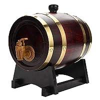 オークバレル ビンテージ 木製 オーク材 ワインエイジング バレル ビール ウイスキー ブランディ テキーラ ラムポート用 (1.5L)