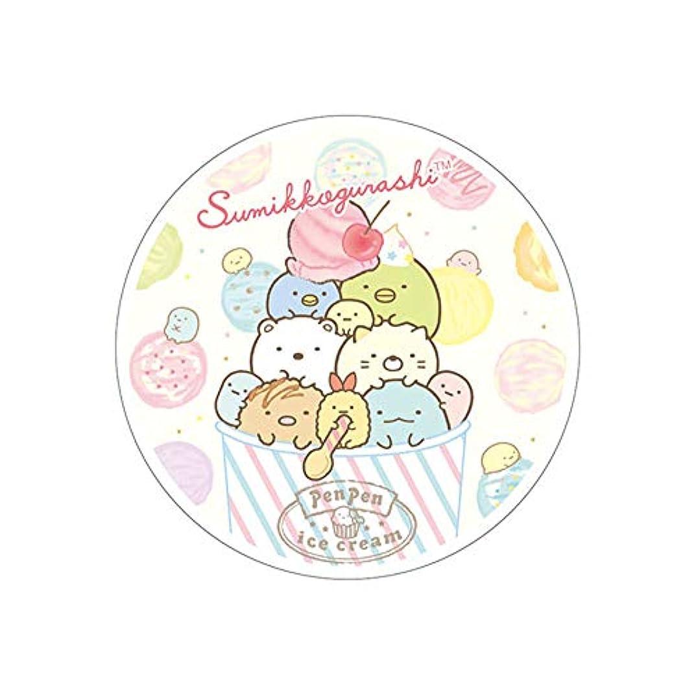 韓国感心する小間すみっコぐらし フルプルクリーム ぺんぺんアイスクリーム 天然ローズの香り 20g 美容液