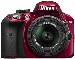 Nikon デジタル一眼レフカメラ D3300 18-55 VR IIレンズキット レッド D3300LKRD