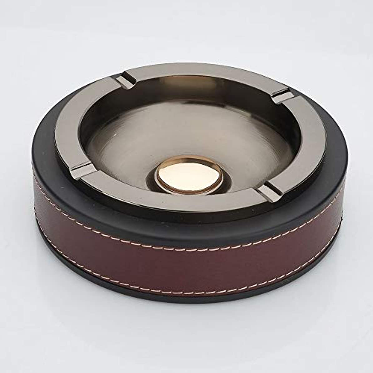 気づかない進むコインランドリータバコの灰皿クリエイティブ灰皿ホームデコレーション (色 : 赤)