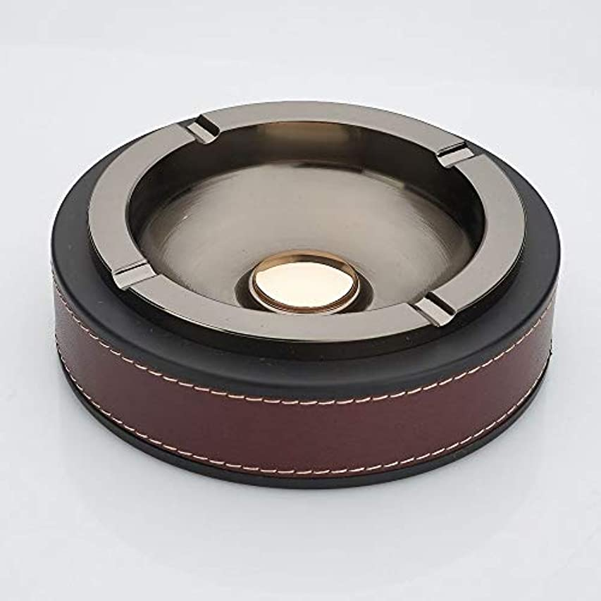 レオナルドダファーム邪悪なタバコの灰皿クリエイティブ灰皿ホームデコレーション (色 : 赤)