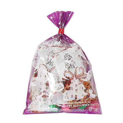 ハロウィン袋 5袋 感謝尽くし お菓子袋詰め合わせ(Jセット) 駄菓子 袋詰め おかしのマーチ