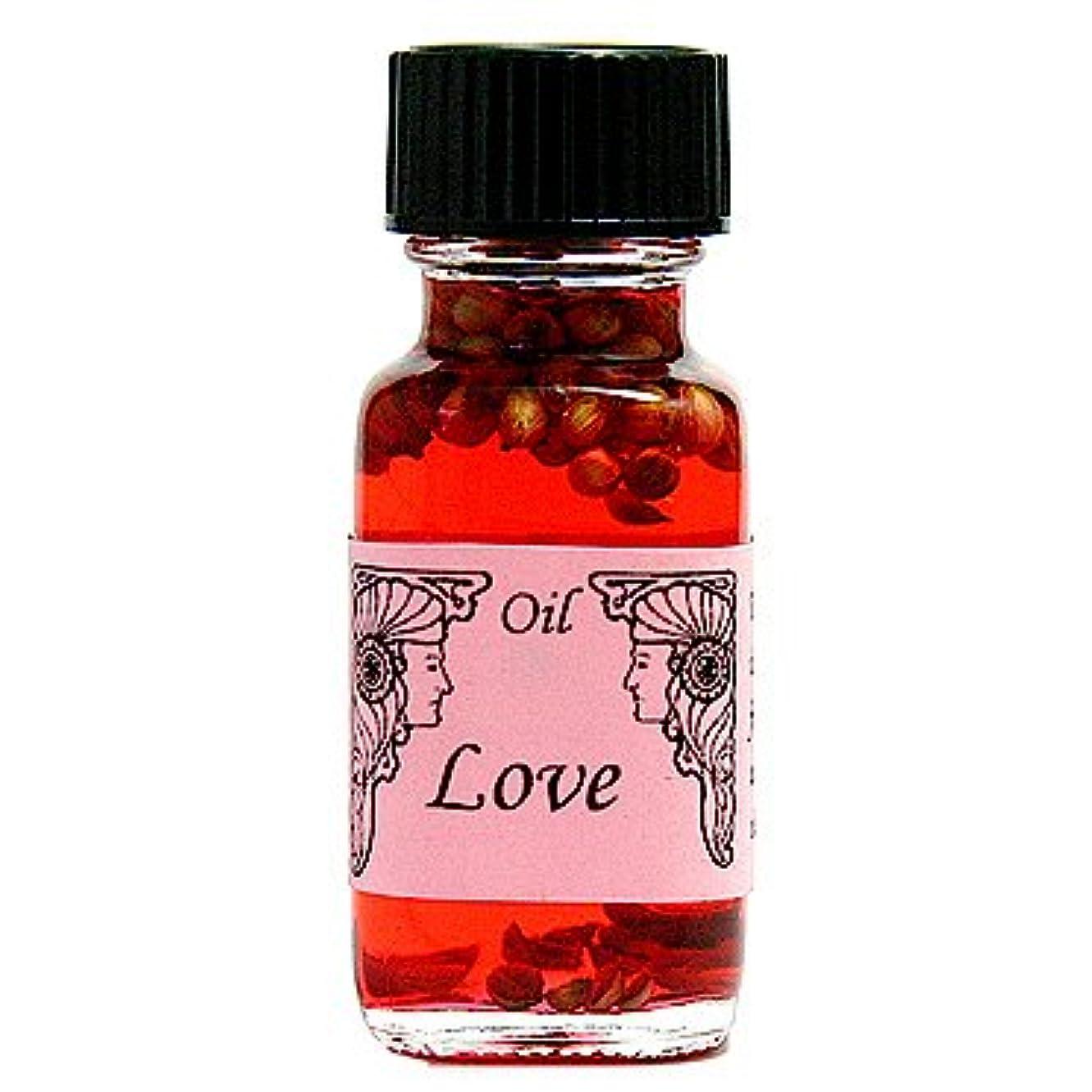 驚かす用量ネックレットアンシェントメモリーオイル ラブ LOVE 15ml (Ancient Memory Oils)