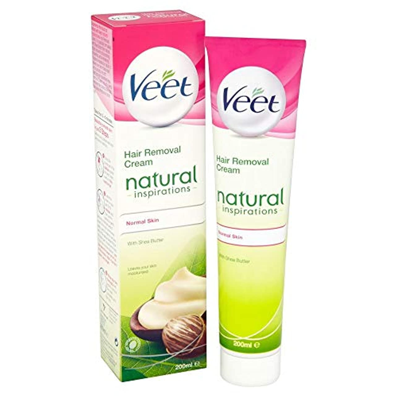 オリエント排除する用心Veet Naturals Hair Removal Cream for Normal Skin 200ml by Veet