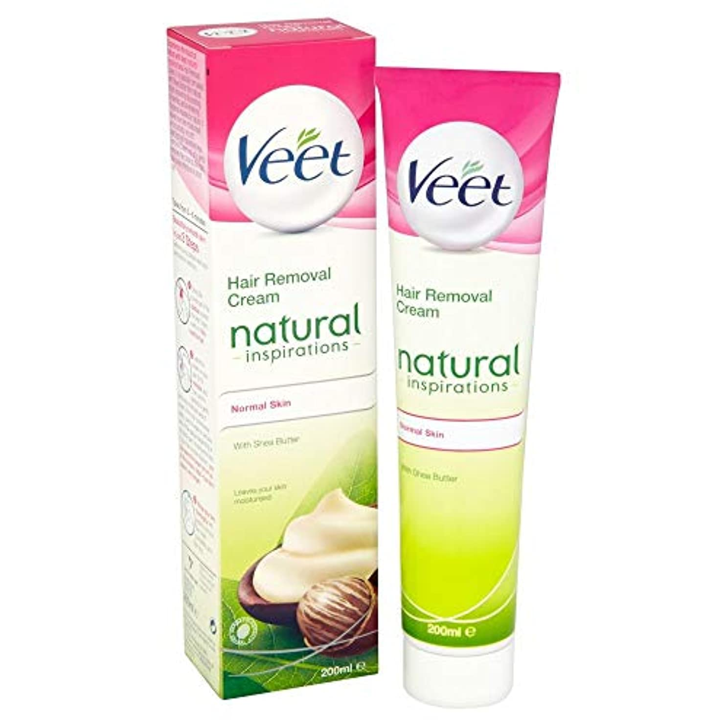 求人ワイドレンチVeet Naturals Hair Removal Cream for Normal Skin 200ml by Veet