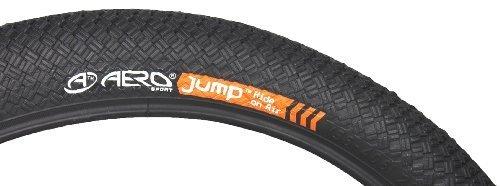 Aero Sport AeroJump/™ Cyclisme 20 x 2.10 BMX Pneus Noir