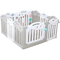 屋内オーシャンボールプール、ベビーパズル玩具ルーム家庭子供のクロールステップバー安全保護フェンス隔離フェンス40-74CM (色 : B)