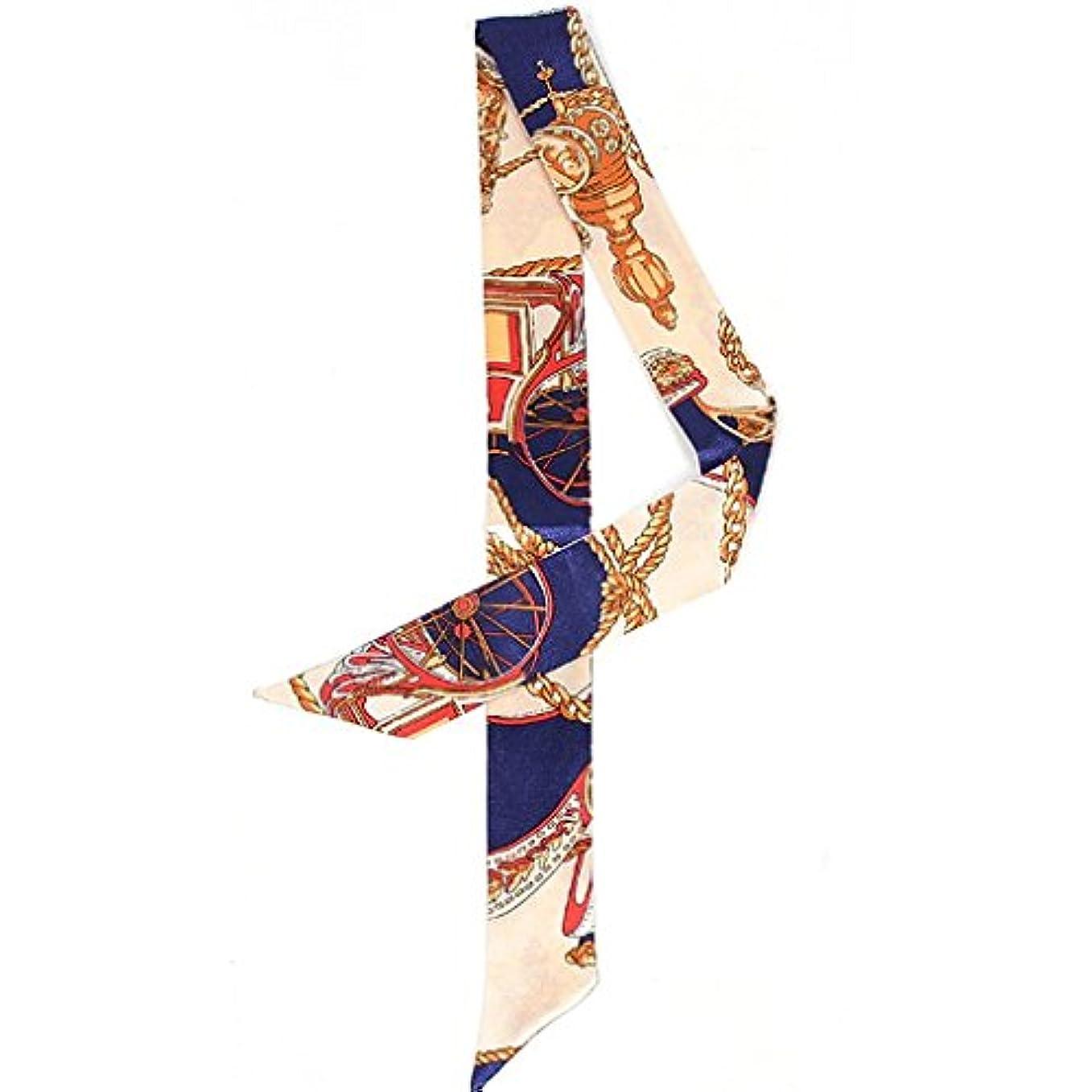 ジェット帰するセールSeliyi ツイリー スカーフ バッグ 鞄 カバン バッグ用スカーフ シルク リボン レディース ショルダー 持ち手 小物