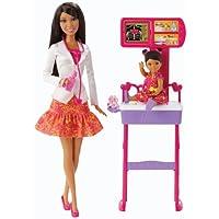 Barbie Careers Doctor African-American Doll Playset by Barbie