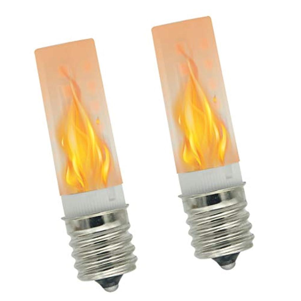 批判的に閉じる財布Eru LED E17 LED フレームランプ 1W 100v~130v 火焔灯 炎のように揺れて、雰囲気を作れる。炎のように火を使わず、火傷と火事を防げる。 ハロウィーン●クリスマス●誕生日●デート●パーティー●団欒会などに最適です。1200K火炎色 2個入り