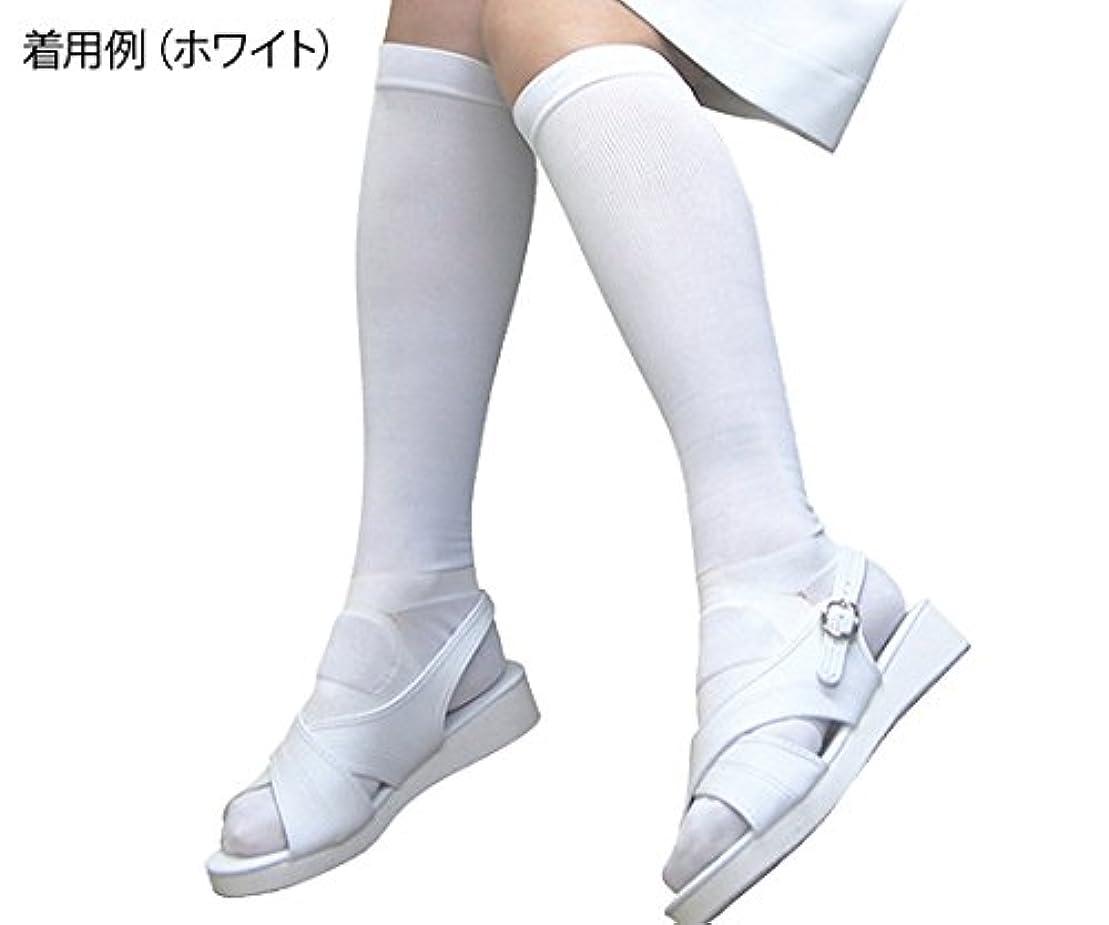十分作動する見つけた足もとソリューション女性用 白 Sサイズ  /8-6564-01