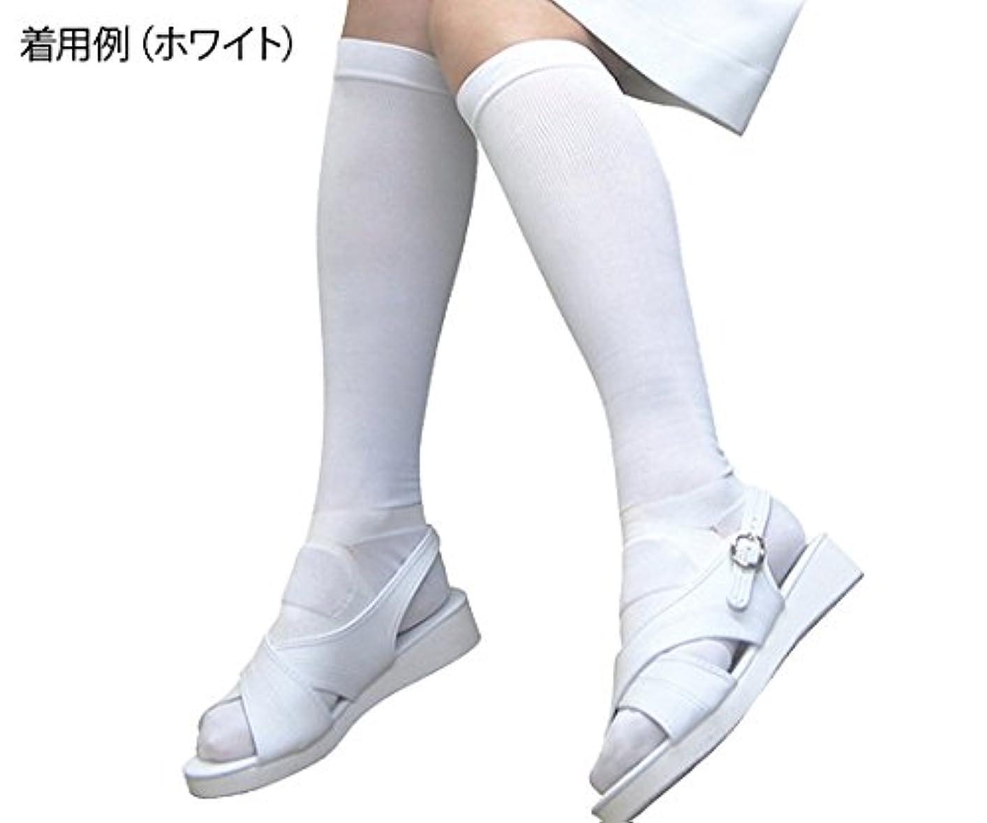 または小間ポンペイ8-6565-01足もとソリューション女性用黒Sサイズ