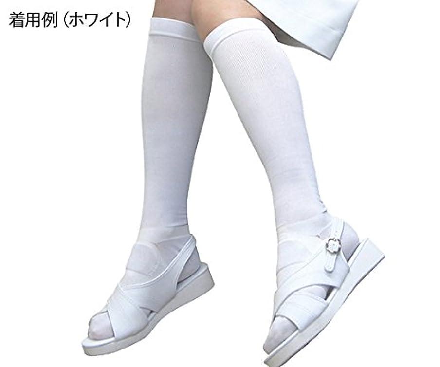 直立スペル精度足もとソリューション女性用 黒 Mサイズ  /8-6565-02