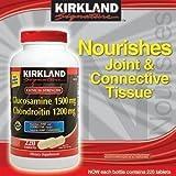 カークランド エキストラストレングス グルコサミン&コンドロイチン 220粒入りX2個セット Kirkland Extra Strength Glucosamine HCl Chondroitin Sulfate