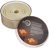 Mercer Culinary M35502 9-Piece Round Plain Nylon Cutter Set