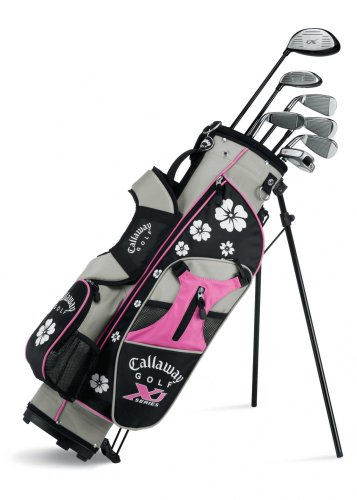 [해외] CALLAWAY XJ JUNIOR 11-PIECE GIRL의 골프 클럽 세트( 9–12YEARS OLD , LEFT HAND )-4916110000006 (2009-03-05)