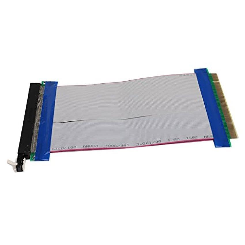 市の花保険をかける称賛Non-brand PCI-E 16XパワーライザーケーブルPCI-Expressリボンフレキシブルエクステンダーアダプター