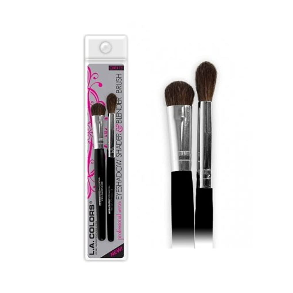固めるクラッシュ苦情文句(3 Pack) LA COLORS Eyeshadow Shader & Blender Brush - Eyeshadow Shader & Blender (並行輸入品)