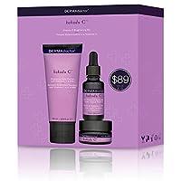 ダーマドクター Kakadu C Vitamin C Brightening Kit: Daily Cleanser 70ml + 20% Vitamin C Serum 15ml + Eye Souffle 15ml 3pcs並行輸入品
