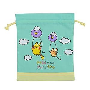 ポケモンセンターオリジナル 巾着 Pokémon Yurutto ふわんふわんて