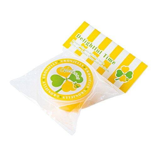 POPウコン (単品) ゼリー マンゴー味 個包装 ばらまき 結婚式 ウェディング パーティー 二次会 贈答用 御礼 プチギフト