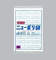 福助工業株式会社 ニューポリ袋 03 No.15 (プラ入) (1ケース:3000枚)