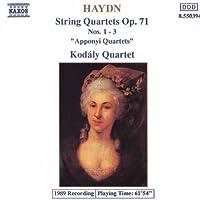 String Quartets Op 71, 1-3