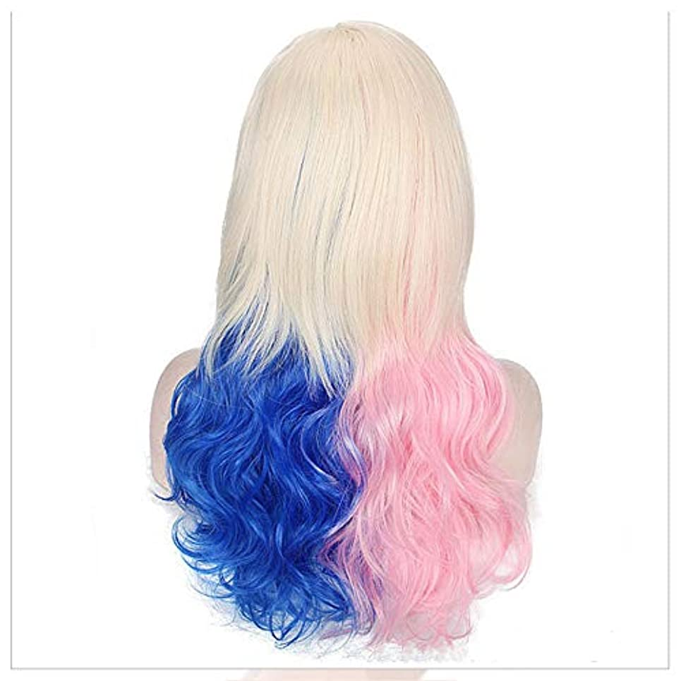 ブルーベルキャベツ安西偽の髪のスライス、髪の接続、ヘアピンの巻いた髪、マットな髪のかつら、成長した髪を接ぎ木して、傷がないです