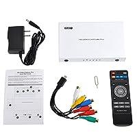 Y&H HD ゲームキャプチャー 1080P ビデオキャプチャー,HDMI/YPBPR/AV 入力,USB フラッシュに保存 ezcap HD