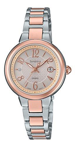 カシオCASIO 腕時計 シーン ソーラータイプ SHS-4503SPG-9AJF レディース