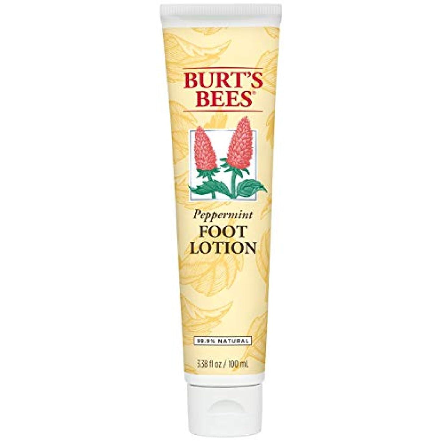 驚かす余剰腐敗バーツビーズ Burts Bees ペパーミント フィット ローション 100mL 【並行輸入品】
