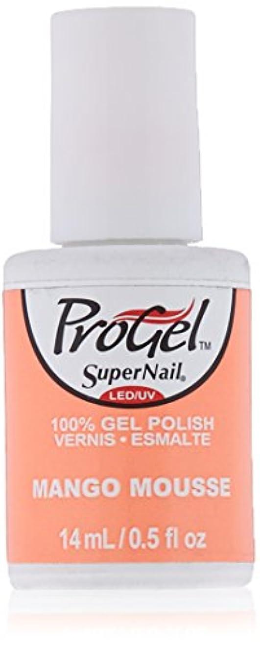 不器用手を差し伸べるブレイズSuperNail ProGel Gel Polish - Mango Mousse - 0.5oz / 14ml
